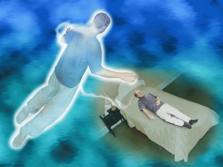 Astral Projection leaving body