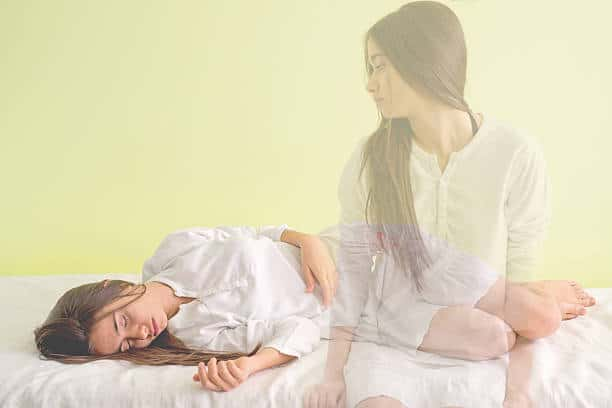 Astral Projection method of leaving the body
