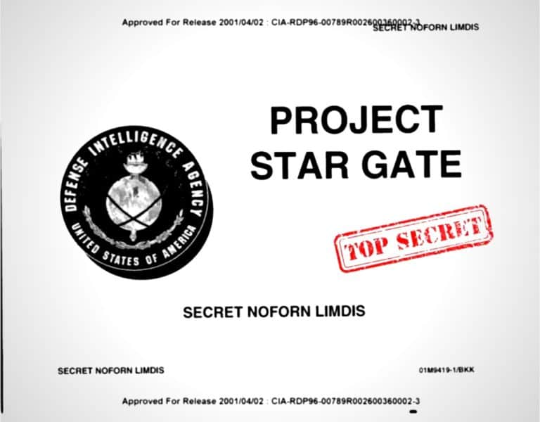 CIA Astral Projection