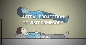 Can you use Astral Projection to visit somebody